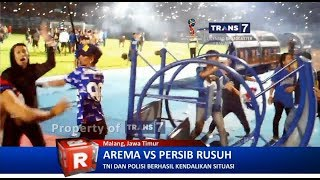 Video TRANS7 JATIM - Rusuh!! Arema VS Persib MP3, 3GP, MP4, WEBM, AVI, FLV April 2018