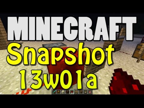 Minecraft 1.5 Snapshot 13w01a (DAYLIGHT SENSOR! HOPPER BLOCK! TRAPPED CHESTS! and MORE!)