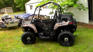 10. Donnie D's Polaris Sportsman Ace 500