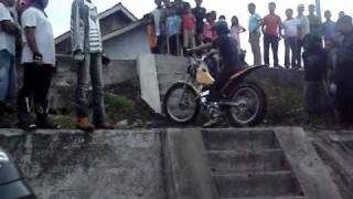Magelang Indonesia  City new picture : Trial motor Indonesia, Talun, Magelang, Indonesia.wmv