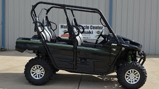 7. $15,799:  2015 Kawasaki Teryx4 Super Black  Overview and Review