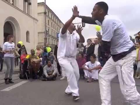 Contra Mestre Couro Seco & Mestre Ediandro (видео)