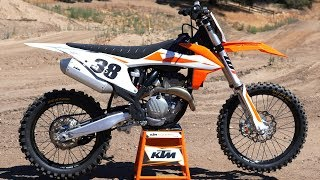 3. First Ride 2019 KTM 350SXF - Motocross Action Magazine