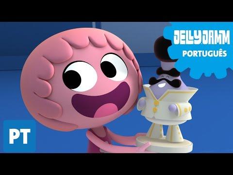 Jelly Jamm Português. EP 07 Eu Quero Esse Também. Desenhos animados em português completos