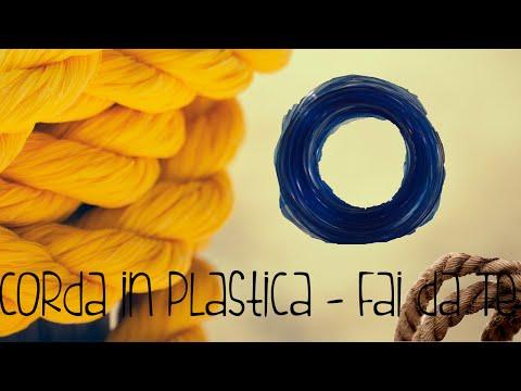 come ricavare una corda dalle bottiglie di plastica