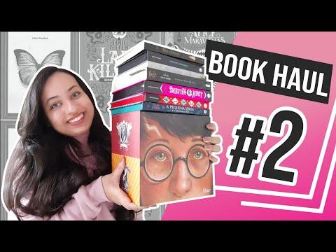 BOOK HAUL#2 Harry Potter,Sol da Meia-Noite,Darkside e Benvirá |Karina Nascimento |Paraíso dos Livros