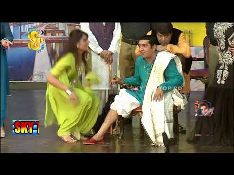 Zafri Khan With Iftikhar Thakur And Tariq Teddy Stage Drama Kaki Full Comedy Clip 2019
