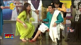 Zafri Khan With Iftikhar Thakur and Tariq Teddy Stage Drama Kaki Full Comedy Clip 2019