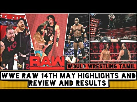 WWE Raw 14th May Highlights And Review And Results/World Wrestling Tamil