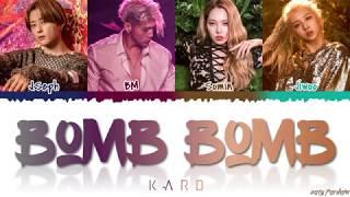 Video KARD - 'BOMB BOMB' (밤밤) Lyrics [Color Coded_Han_Rom_Eng] MP3, 3GP, MP4, WEBM, AVI, FLV April 2019