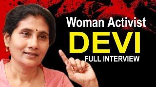 Video Woman Activist Devi Exclusive Interview | Telugu Popular TV MP3, 3GP, MP4, WEBM, AVI, FLV Oktober 2018