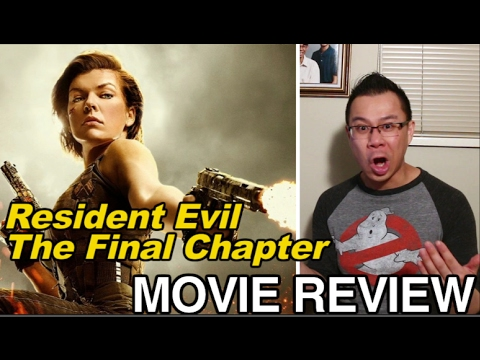 Resident Evil The Final Chapter film review by Ragin Ronin