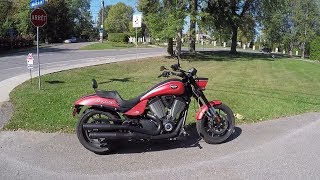 7. Victory Hammer S 2011 Motorcycle Review