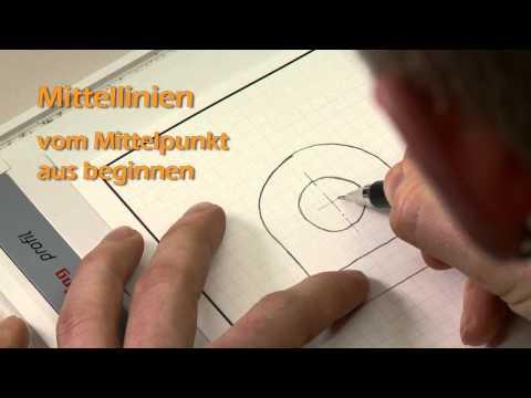 Technisches Zeichnen: Übung 1 – Handskizze eines einfachen Maschinenteils nach Modell
