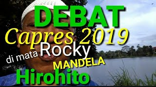 Video (Part 10 of 30) DEBAT CAPRES 2019 ! di mata Rocky Gerung, Nelson Mandela & Hirohito MP3, 3GP, MP4, WEBM, AVI, FLV Januari 2019