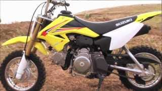 4. MXTV Mini Dirt Bikes Review - Suzuki DR-Z 70