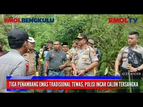 Tiga Penambang Emas Tradisional Tewas, Polisi Incar Calon Tersangka