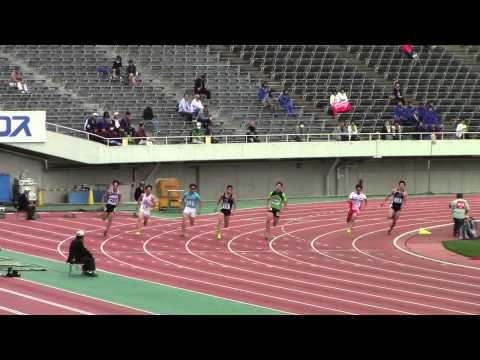 速報!織田記念200m B決勝