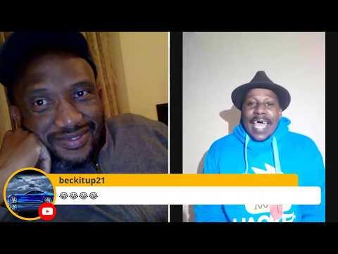 Stand up Comedian David Kau with comedian Siya Seya Vision