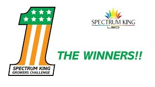 Spectrum King Growers Challenge Winners by Spectrum KING LED