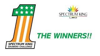 Spectrum King Growers Challenge Winners by Spectrum KING LED