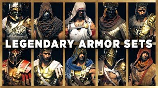 Assassin's Creed Odyssey - All LEGENDARY ARMOR Sets - Showcase