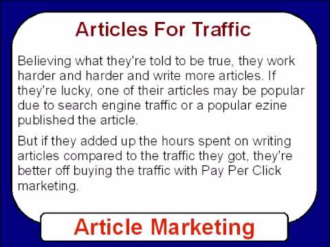 Article Marketing – Ultimate Article Marketing Secrets