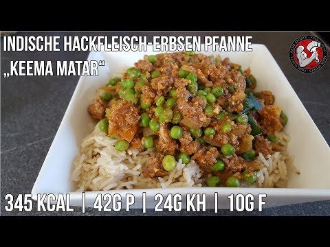 Indische Hackfleisch Erbsen Pfanne | Keema Matar Rezept