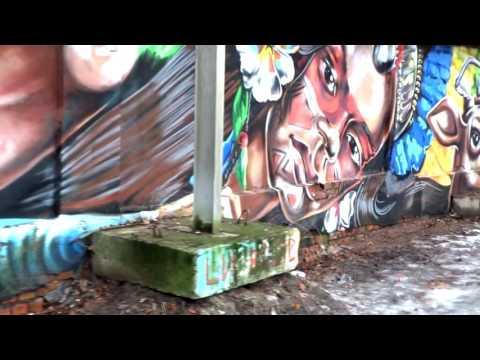 Граффити на улице Писарева