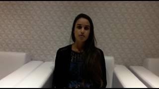 Juliane aluna da Pós em Farmácia Estética do Nepuga