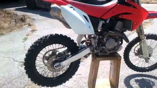 9. 2007 HONDA CRF150RB
