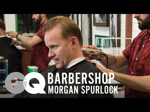 Director! - Morgan Spurlock stops by Barclays Center for a trim and shave with GQ editor Mark Anthony Green. The documentary filmmaker talks about growing up during the Dr. J era of the Sixers and shares...