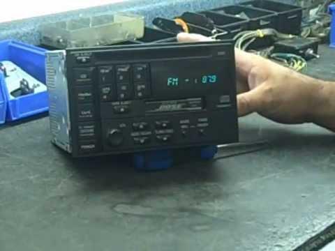 Bose Infiniti I30 / J30  problem Nissan Maxima Stereo Repair 1993-1997
