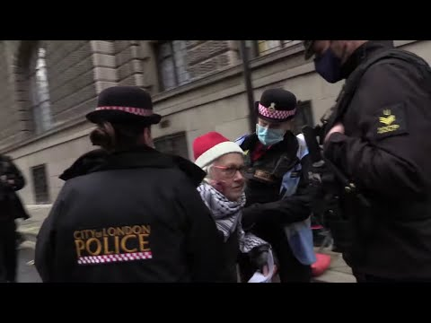 75 Year old women manhandled like an Animal - Central Criminal Court London