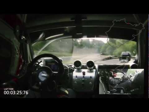 Pagani Zonda R - Nürburgring Lap Record 6:47