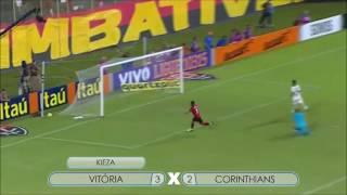 Vitória 3x2 Corinthians3º Gol do Vitória - KiezaCampeonato Brasileiro Série A 2ª Rodada22/05/2016Narração João Andrade
