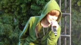 "Justin Bieber  ""One Time "" - Mission Viejo Microsoft Concert -"
