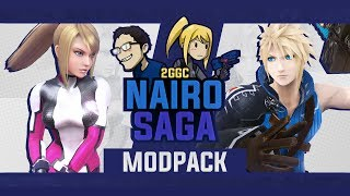 It looks like a special modpack by Nairo will be used at Nairo Saga