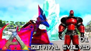 ARK: SURVIVAL EVOLVED - NEW SEASON EPIC START !!! E01 (MODDED ARK ETERNAL ISO CRYSTAL ISLES)