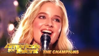 Video Jackie Evancho: 18-Year-Old STUNNING Opera Singer Is BACK! | AGT Champions MP3, 3GP, MP4, WEBM, AVI, FLV April 2019