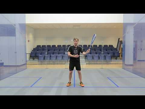 Squash coaching: Peter Nicol on forehand technique