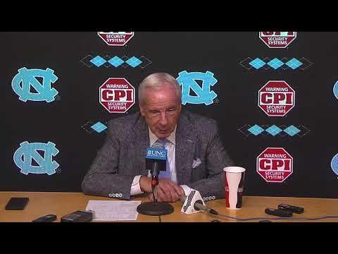 UNC Men's Basketball: Roy Williams Post Clemson Press Conference (видео)