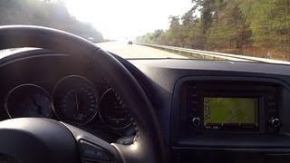 2013 Mazda CX-5 In Detail / Interior Review / Start Up / Driving / Test