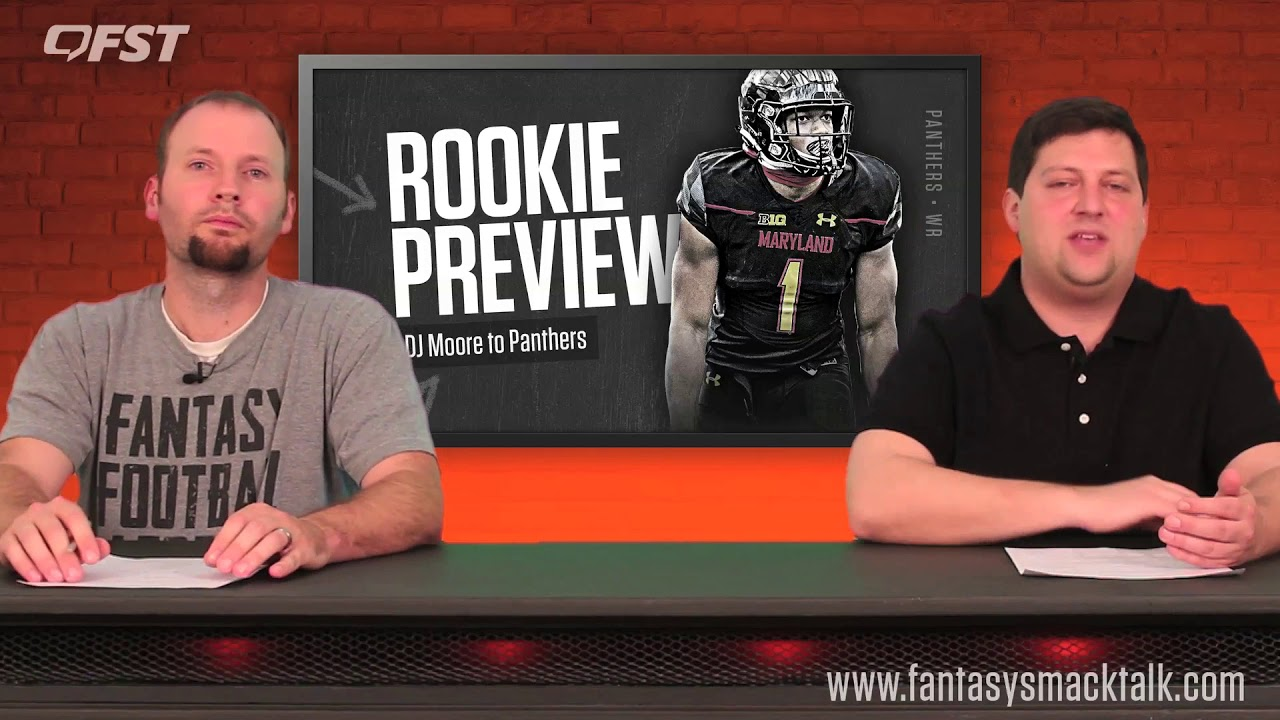 D.J. Moore Rookie Wide Receiver Preview – 2018 Fantasy Football thumbnail