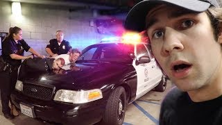 My roommate and one of our good friends got arrested at our party last night... or so they thought.. I also talk to bignik and his mother.. and josh peck gives me a gift!GO CHECKOUT OUR NEW PODCAST: https://itunes.apple.com/us/podcast/views-with-david-dobrik-and-jason-nash/id1236778275?mt=2BUY THE NEW DAVID DOBRIK GEAR HERE: https://fanjoy.co/collections/david-dobrik   WATCH MY NEW HOUSE TOUR HERE: https://www.youtube.com/watch?v=C4yECzFCdZk&t=26s   Follow the guy who looks like jonah hill on insta: @nickantonyanComment how much you love our bunny if you read thisADD ME ON SNAPCHAT TO BE INVITED TO OUR HOUSE NEXT: @DavidDobrikThanks for watching :) Throww it a like if you like throwing stuff!Turn my notifications on these to be the next shoutout!!Twitter: @DavidDobrikInstagram: @DavidDobrikSnapchat: @DavidDobrikVine: @DavidDobrikMusically: @DavidDobrikBusiness email: daviddobrikbusiness@gmail.comOther people in the video:Liza- Twitter; @lizakoshy Instagram; @lizakoshy Snapchat; @lizakoshysnapsJosh Peck- Instagram: @shuapeck Twitter: @Itsjoshpeck Snapchat: @joshuapeckSeth - @whois_sethJack Dytrych: Twitter: @BigJuicyJack Instagram: jdytrych22Cailee: Twitter/Instagram: @CaileeRaeMusicCorinna- Twitter/Instagram: @CorinnaKopfCody Ko- Twitter/Instagram: @CodyKoJason Nash- Twitter and Instagram; @JasonNashBignik- Twitter: @BigNik Instagram: @RealBigNik Snapchat; @BignikVineHeath- Twitter; @HeathHussar Instagram; @HeathHussar Snapchat; @HeathHussarAlex Ernst- Twitter; @AlexErnst Instagram; @Ernst Snapchat; @AlexErnstThe Gabbie Show- Twitter; @TheGabbieShow Instagram; @TheGabbieShow Snapchat; @TheGabbieShowZane- Twitter; @Zane Instagram; @Zane Snapchat; @ZaneHijaziScottysire- Twitter; @imnotscottysire Instagram; @VanillaDingDongToddysmith- Twitter; @todderic_ Instagram; @todderic_Dom: Twitter/Instagram: @DurteDomLindsey: @lindseygrollJulia Abner- Instagram; @JuliaAbnerCarly incontro- Twitter/Instagram: @CarlyIncontroMatt King - Twitter/Instagram/Snapchat: @MattRKingErin Gil