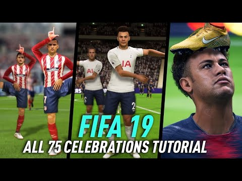 FIFA 19 CELEBRACIONES TUTORIAL | PS4 & XBOX ONE