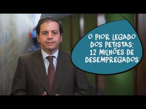 Rodrigo de Castro: desemprego de 12 milhões, o pior legado do PT