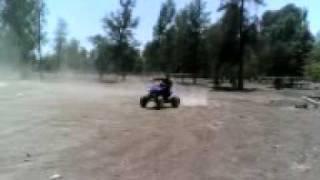 9. 2008 Yamaha Raptor 250cc