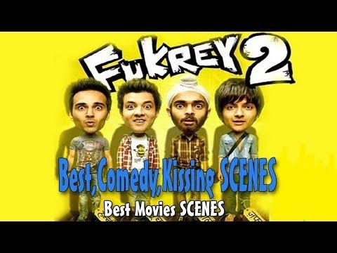 Fukrey Returns (2017) Movie Best,Comedy,Kissing, Scenes