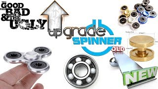 This is a test of the hybrid ceramic bearing to see if it makes a cheap spinner better.....